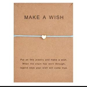 LAST ONE  ✨ Make a wish bracelet